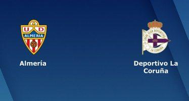 Ισπανία Σεγούντα Ντιβιζιόν: Αλμερία-Λα Κορούνια