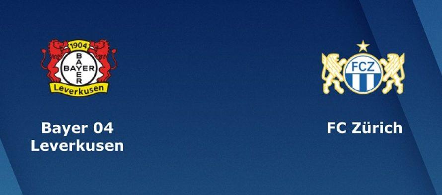 Τσάμπιονς Λιγκ 1ος Όμιλος: Λεβερκούζεν-Ζυρίχη