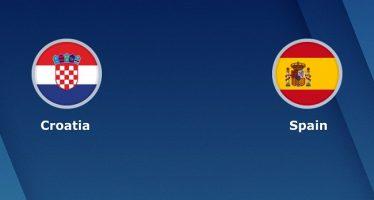 Νέισιονς Λιγκ 4ος Όμιλος (Α'): Κροατία-Ισπανία