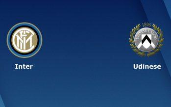 Ιταλία Σέριε Α: Ίντερ-Ουντινέζε