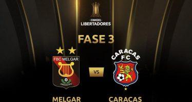 Κόπα Λιμπερταδόρες Προκριματική Φάση: Μελγκάρ-Καράκας