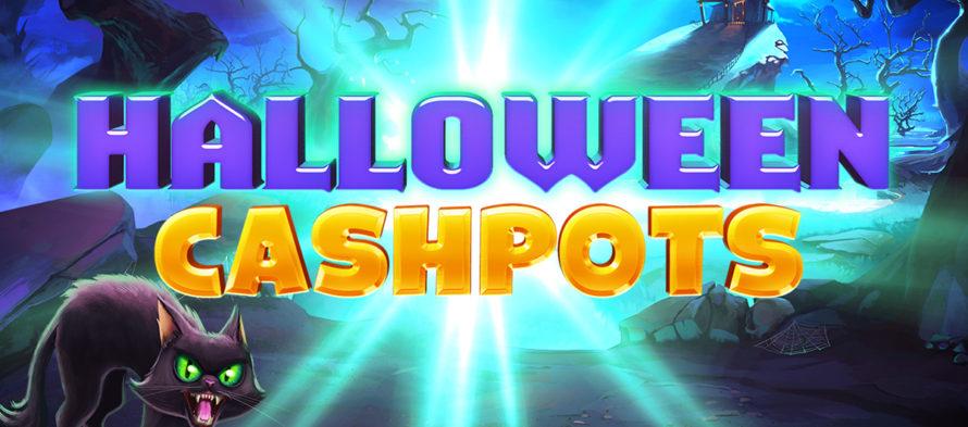 Νυχτερίδες, φαντάσματα και αράχνες! Halloween Cash Pots από την Inspired Gaming!