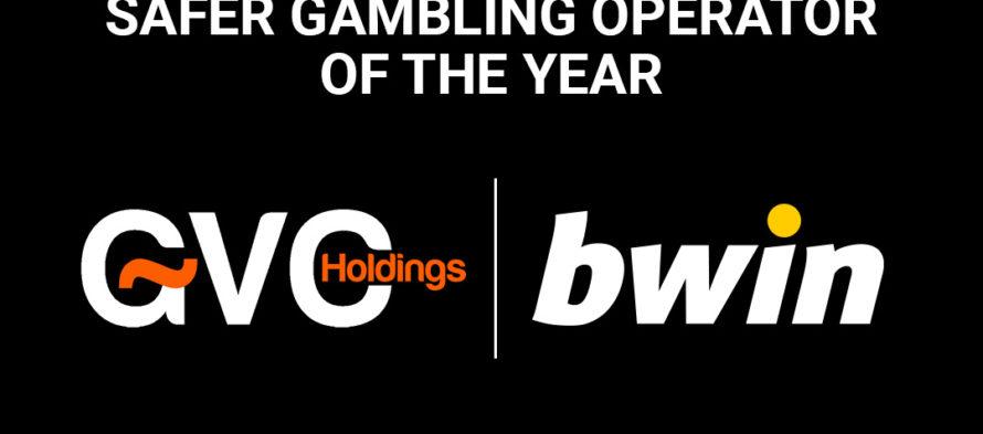 H GVC Holdings bwin κατακτά την κορυφαία διάκριση: «Safer gambling operator of the year»