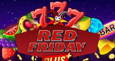 Black Friday με… Red Friday προσφορά* στο casino του Pamestoixima.gr