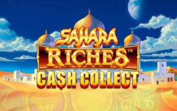 Ταξίδι στην έρημο με το «Sahara Riches: Cash Collect»